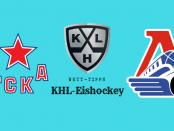 ZSKA Moskau vs. Lokomotiv Yaroslavl