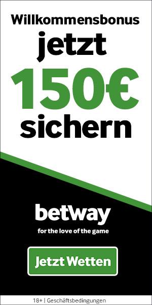 sports.betway.com/de/online-wetten Betway Bonus für Online Sportwetten