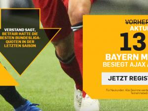Mega Boost auf die Bayern!