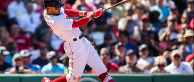 Mookie Betts Boston Red Sox